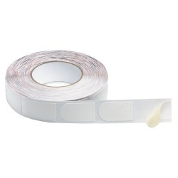 "Storm Bowlers Tape White Textured 3/4"" 500/Roll"