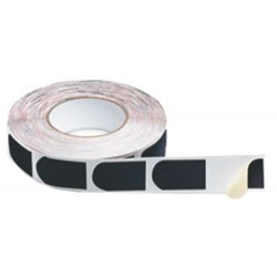 "Storm Bowlers Tape Black Textured 1"" 500/Roll"